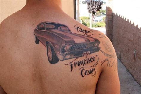 nova tattoo 71 chevy by jeff norton tattoonow