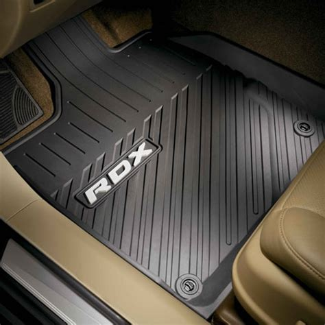 How To Clean All Weather Mats by 08p13 Tx4 Acura All Season Floor Mats Rdx