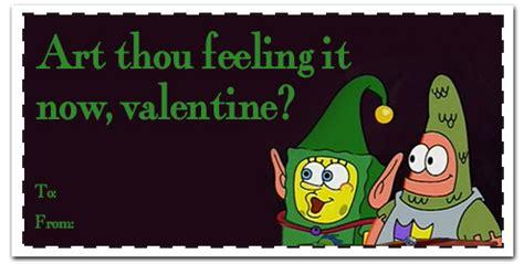 spongebob valentines day cards valentines cards spongebob www pixshark
