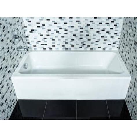 bathtub at home depot american standard mainstream acrylic right hand bathtub
