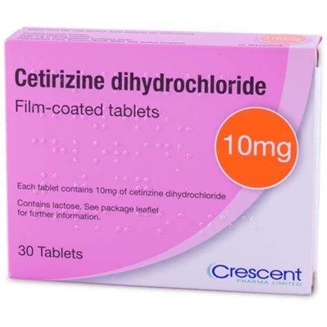 cetirizine dosis obat kegunaan efek sing