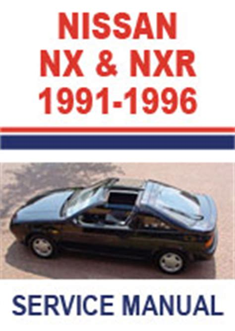small engine service manuals 1992 nissan nx security system nissan nx nx r workshop repair manual