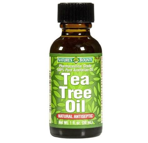 nature s bounty natural tea tree oil 1 oz target natures bounty tea tree oil natural antiseptic
