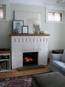 painting your brick fireplace white to do or not to do