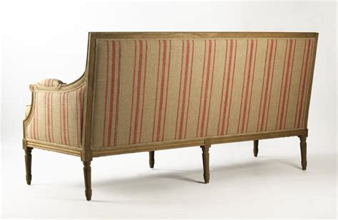 Sofa Sait by Louis Xvi Sofa St Germain Style Stripe Linen