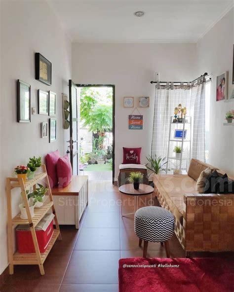 desain ruang tamu kekinian  pas banget buat rumah