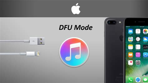 how to put iphone 7 and iphone 7 plus into dfu mode or restore mode