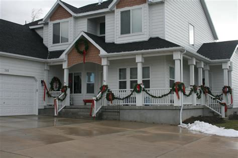 Country Home With Wrap Around Porch deck the halls or the front porch at least hopeful