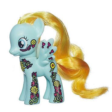 mlp ponymania friendship blossom collection  brushables mlp merch