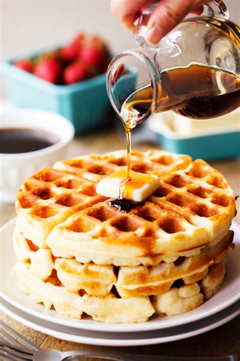 quick yeast waffles the pkp way