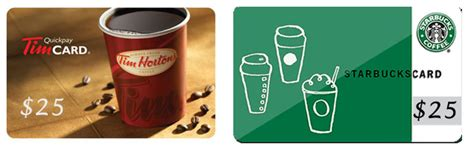 Tim Horton Gift Card - enter for a chance to win 25 gift card from starbucks tim hortons thisismy ca