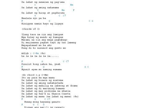 Eraserheads Guitar Chords
