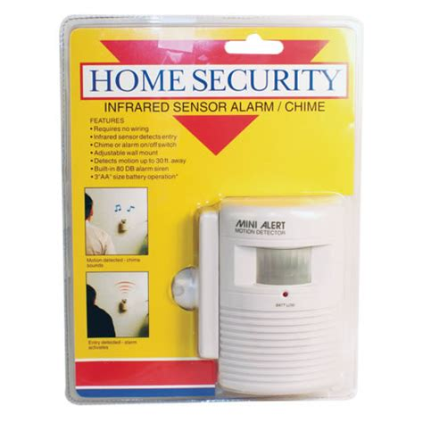 infrared motion sensor pir motion detection alarm