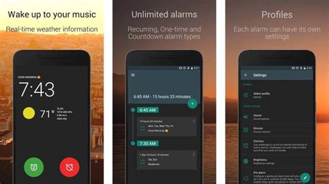 Heavy Sleeper Alarm App by 10 Best Clock Apps And Digital Clock Apps For Android Android Authority