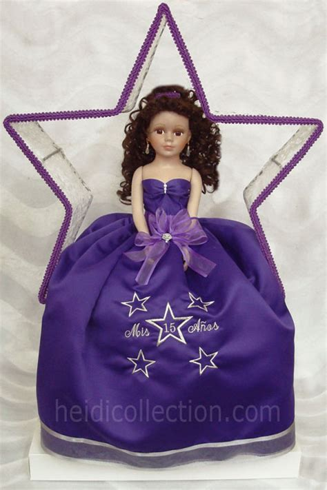 black quinceanera doll heidicollection 21 inch quinceanera doll w