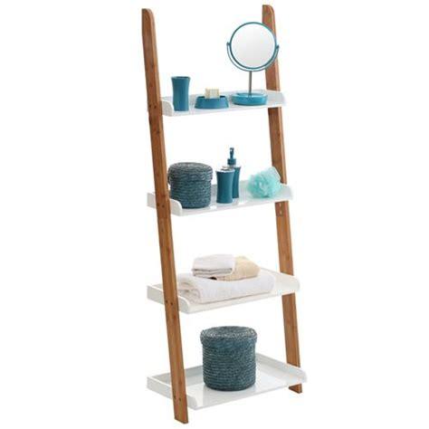 ladder bathroom shelf 1000 ideas about bamboo ladders on pinterest bamboo