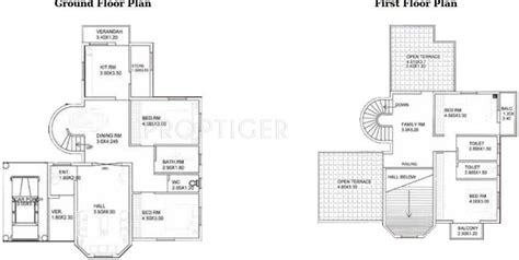 western floor plans 2787 sq ft 4 bhk 4t villa for sale in sanatan group best