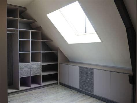 photo armoire de chambre sous pente