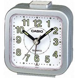 casio tq141 mini beep analogue bed alarm clock silver 4971850595489 ebay