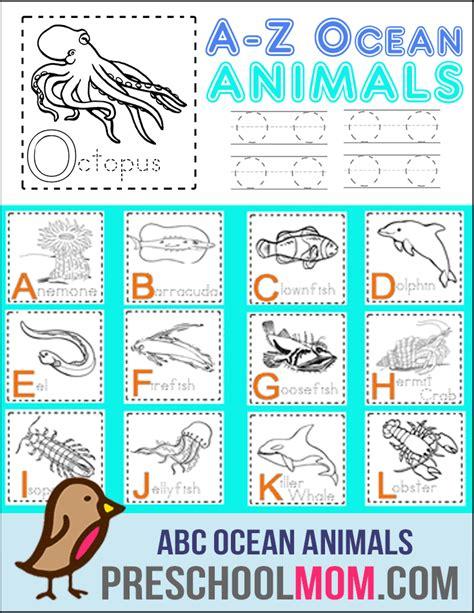 Printable Ocean Alphabet Book | alphabet preschool printables