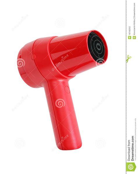 Modern Element Hair Dryer hairdryer on white stock photography image 19745312