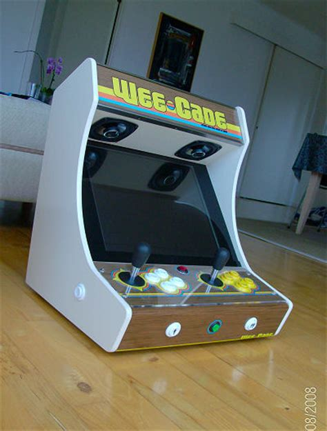 Mame Tabletop Cabinet Plans by Project Mame And Weecade Build Your Own Mame Cabinet