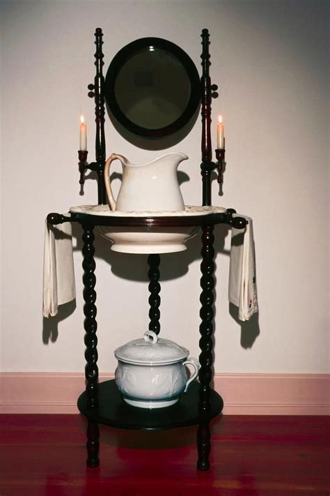 Wash Basin Stand by Antique Wash Stand Print By Sally Weigand