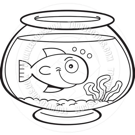 goldfish bowl coloring page free coloring pages of fishbowl