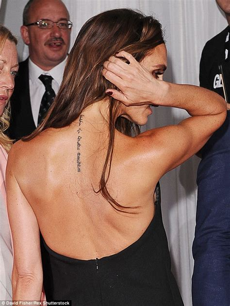 beckham tattoo removal victoria beckham is removing hebrew neck tattoo tribute