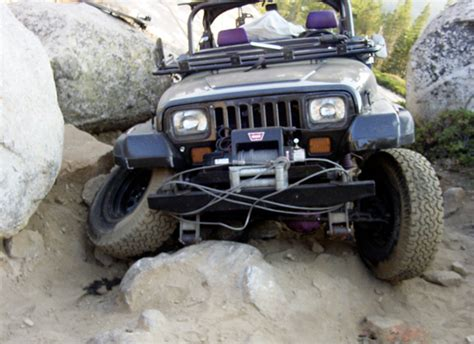Trail Jeep Trail Tips Road Damage Mitigation Mechanical Sympathy