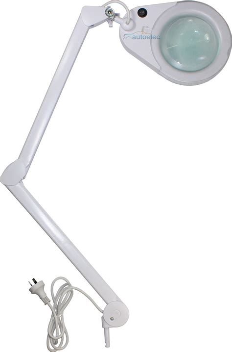 desk mount magnifier l 5 dio magnifying lamp 56 led light illuminated magnifier