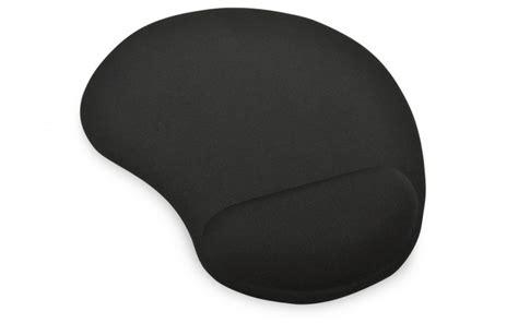 Mouse Pad Dengan Bantalan Gel Black ednet gel mousepad black coferro cables