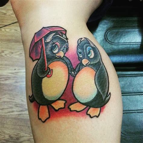 penguin tattoo meaning 45 sweet and penguin ideas for your next