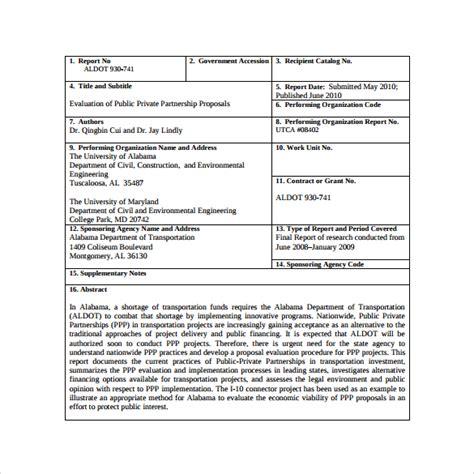 sle partnership proposal 15 documents in pdf