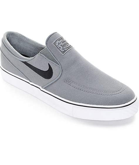 imagenes zapatillas nike janoski nike sb zoom janoski cool grey canvas slip on shoes