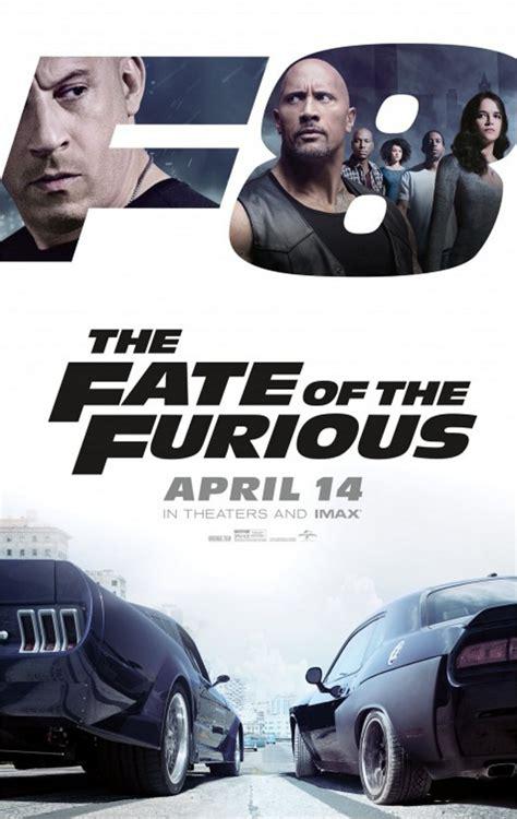 kabar film fast and furious 8 vin diesel tatap sengit dwayne johnson di poster fate of