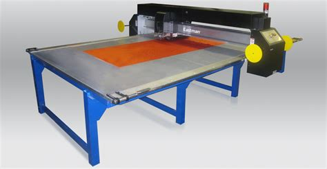 combi laser cutting static table eastman machine company