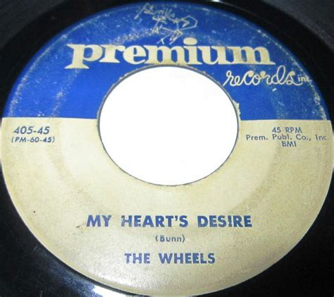 tattooed heart doo wop version 1956 doo wop 45 rpm the wheels my heart s desire let s