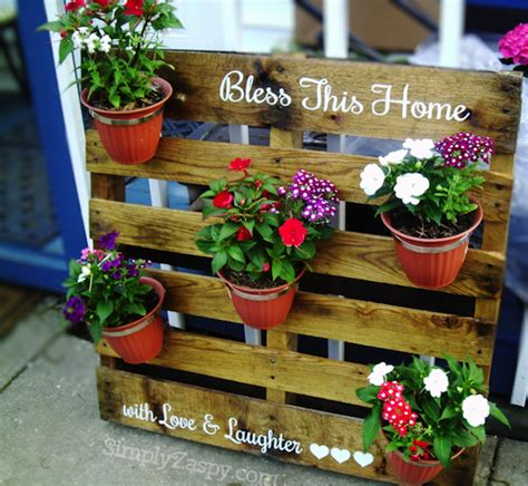 15 creative diy outdoor pallet 15 simple but creative diy ideas to grow plants and