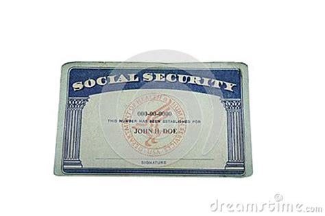 Blank Card Stock Photography Image 31251892 Blank Social Security Card Template 2