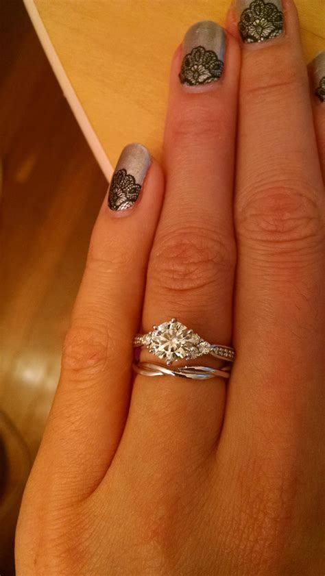 Wedding Bands For Twisted Engagement Rings by Wedding Bands For Twisted Engagement Rings Weddingplanning