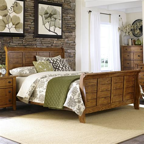ksl couches grandpa s cabin king sleigh bed with paneling rotmans