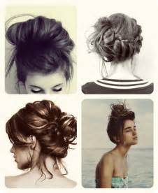 easy buns for shoulder length hair top 3 easy daily hairstyles ideas for medium hair vpfashion