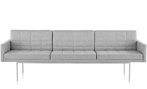 herman miller tuxedo sofa tuxedo component lounge sofa with arms hivemodern com