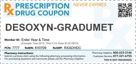 Meth Detox Program by Desoxyn Gradumet Prescription Coupon Abuse