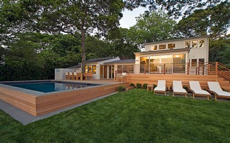 redwood sag harbor htons modern green home