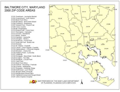 Md Search Codes Baltimore City Zip Code Map Zip Code Map