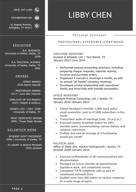 The Two-Page Resume: When Can You Use It? | Resume Genius