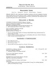Registered Resume Sle Format by Nursing Program Coordinator Resume Sle Resume Writing Service