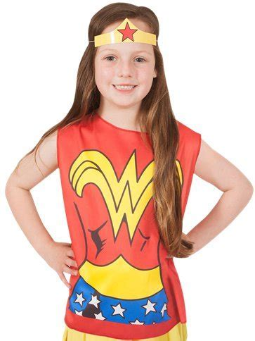Wonder Woman Kit   Child Costume   Party Delights